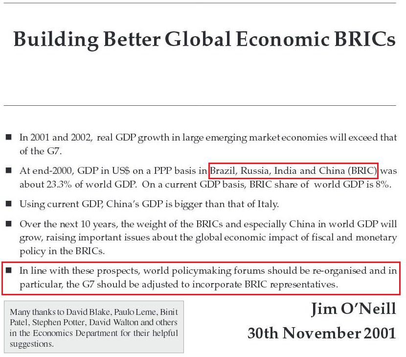 Global economics paper goldman sachs economic research