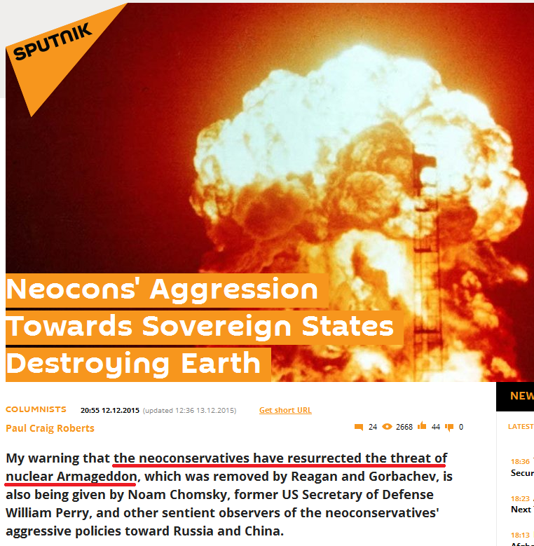 Globalist Agenda Watch 2015: Update 91 – Selling dialectic conflict ... Unsc Propaganda